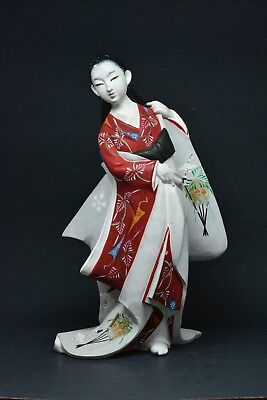 Vintage Japanese Hakata Doll ~ 10.5 inches tall ~ 🐘