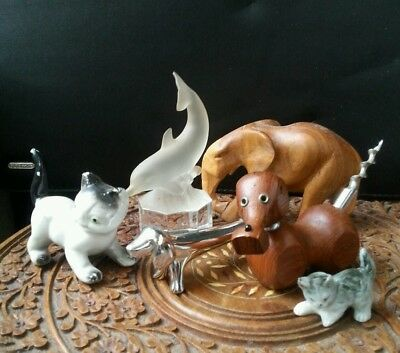 Small Lot of Animal Ornament Collectables