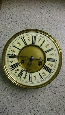 Vienna  Wall Clock Movement, Dial Etc For Restoration