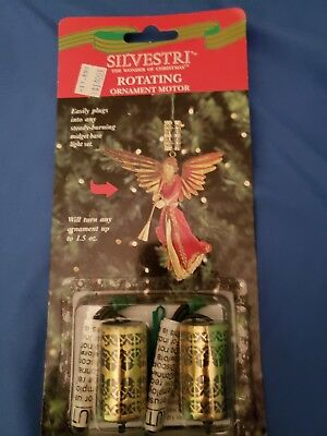 Silvestri Rotating Ornament Motor* Old Stock NEW*