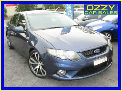2008 Ford Falcon FG XR6 Blue Automatic 6sp A Sedan