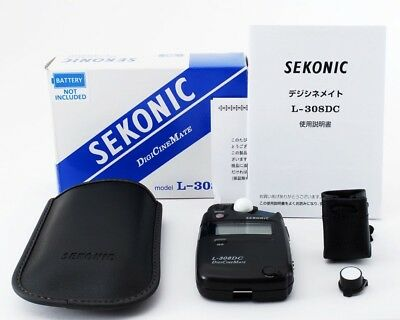 Sekonic L-308DC DigiCineMate Light Meter w/Box ,Case [Top Mint] from Japan #8493