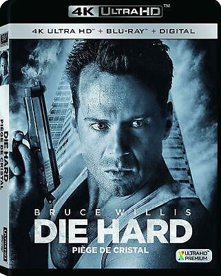 Die Hard - 4K UHD Ultra HD + Blu-ray + Digital (2018) BRAND NEW