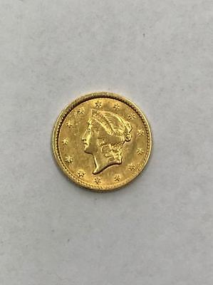 1851 $1 Gold Coin.!! Type I.. Uncertified.. NR.!!