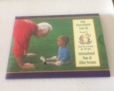 1999 Uncirculated Coin Set In Brand New Condition!