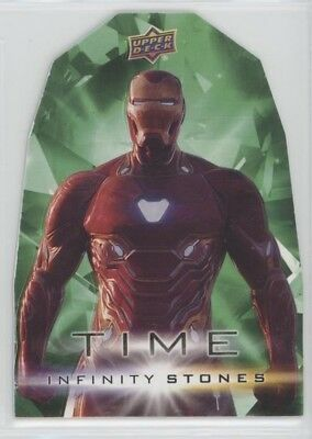2018 UD Marvel Avengers Infinity War Time Stone card #5 IRON MAN