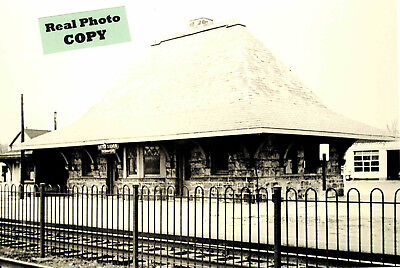 New York & Long Branch Railroad Depot (station) at Little Silver, Monmouth Co NJ