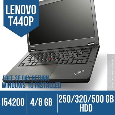 Lenovo ThinkPad T440p Laptop - 100% SATISFACTION GUARANTEE - 2 DAY SHIPPING