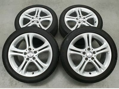 17 Inch Genuine Mercedes Benz A Class Wheels and Tyres A2464011002 Set of 4
