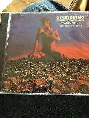 Deadly Sting: The Mercury Years by Scorpions 2 Discs CD Heavy Metal Sealed New