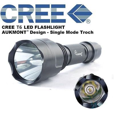 Hunting Gun Air Rifle Torch CREE XML 1200LM Tactical Scope Mount Lamp Flashlight