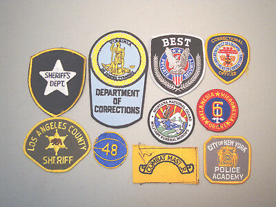 Missing Thread Unfinished Patch Lot  (10 Patches)   L@@k