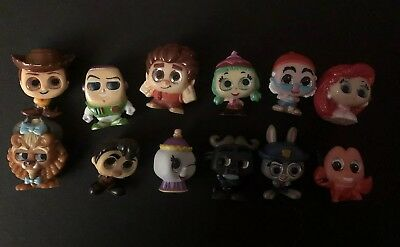Disney Doorables Series/Season 2 Lot of (12) Characters-Toy Story Wreck It Ralph