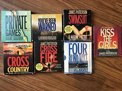 Collection Of Seven James Patterson Audiobooks On CD