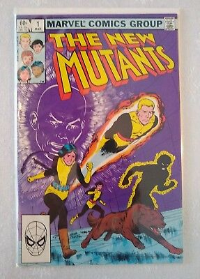 New Mutants #1 - 2nd Team App 1st Series Copper Age Classic Cover Marvel Comics