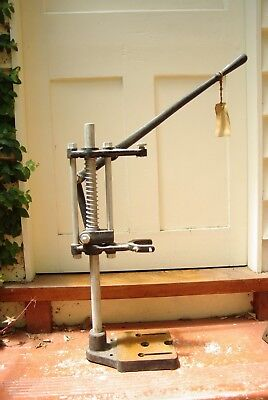 Vintage Sher Drill Stand 'L' Collectible