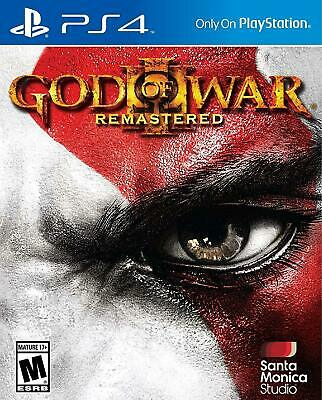 God of War III: Remastered - Sony PlayStation 4 PS4 Game - Brand New