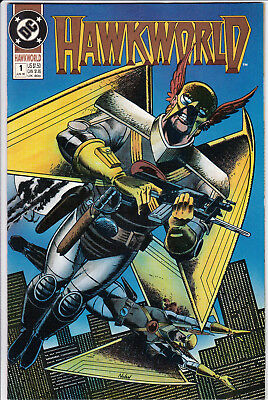 Hawkworld #1 (Jun 1990, DC), VF/NM FREE SHIPPING !