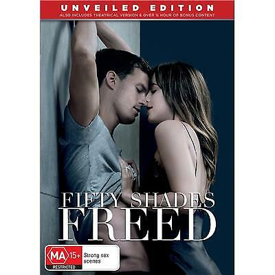 Fifty Shades Freed Dvd, New & Sealed, 2018 Release, Region 4, Free Post