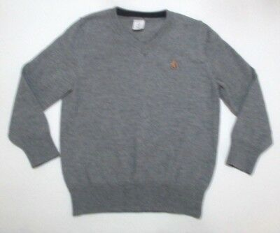 Toddler Boys Baby Gap Gray V-Neck Pullover Sweater Size 3 Year 3T