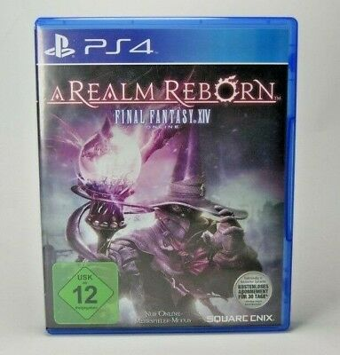 Final Fantasy XIV: A Realm Reborn (Sony PlayStation 4, 2014, DVD-Box) PS4 Spiel
