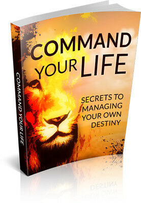Command Your Life eBook PDF with Resell Rights Free Shipping.