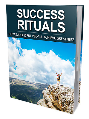 Success Rituals PDF eBook + 3 Bonus with Resell Rights Free Shipping