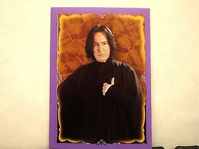 Harry Potter Panini Stickers: Severus Snape/Alan Rickman u pick $3.00 ea.