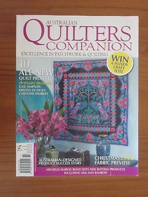 Australian Quilters Companion magazine No 32 Quilting sewing