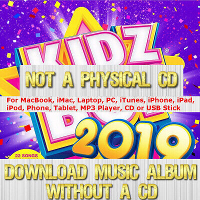 KIDZ BOP Kids Children's Music 2018 cd 2019