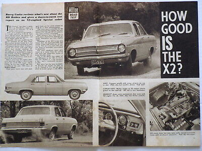 Holden Hd Special X2 Engine Original 1965 Vintage Road Test Feature How Good Is