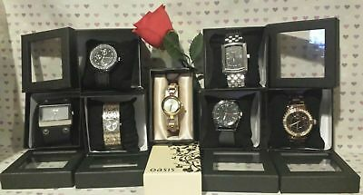 Job Lot Of Watches Mens/ Ladies Next, Oasis & River Island Valentines Gifts J55