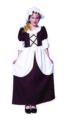 Child Classic Colonial Girl Costume-Girls Small by Costumes4Less