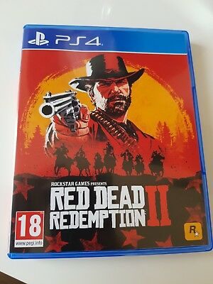 red dead redemption 2 ps4 game PlayStation 4