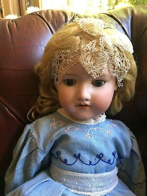 Armande Marseille Antique Sleeping china doll A390 A6m