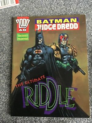 2000ad Batman Judge Dredd