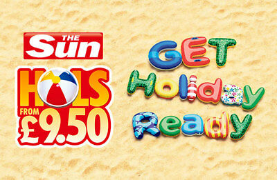 Sun Holidays From £9.50 Booking Codes All 10 Token Code words saver codes