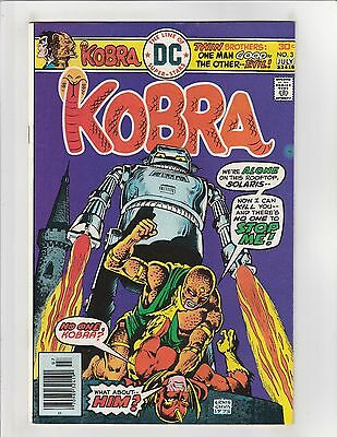 Kobra (1976) #3 VF- 7.5 DC Comics Bronze Age; $4 Flat-Rate Shipping!
