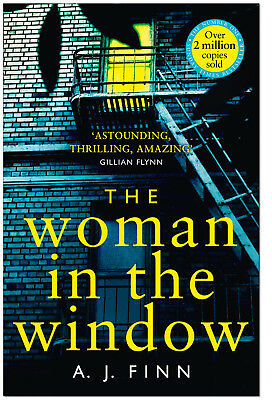 The Woman In The Window - A J Finn PAPERBACK *BRAND NEW*