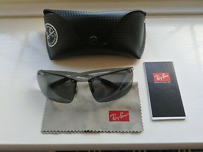 e859fc8048 RAY BAN CARBON Fibre Collection Sunglasses RB 8306 - EUR 74