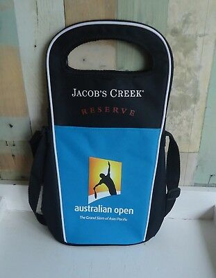 Jacob's Creek Reserve Australian Open Tennis Dual Wine Bottle Cooler Bag