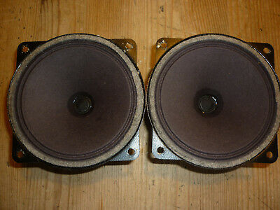 pair of old Philips 10cm tweeters 4 ohm full working worldwide ship