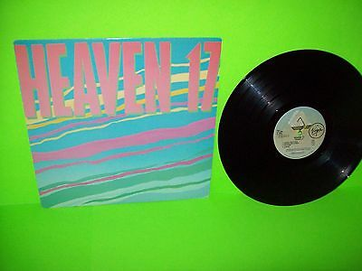 Heaven 17 ‎– Heaven 17 1982 Vinyl LP Record Synth-Pop New Wave Electronic Pop EX