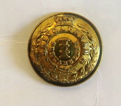 Indian Army. 1st Madras Infantry Officer's Tunic Button