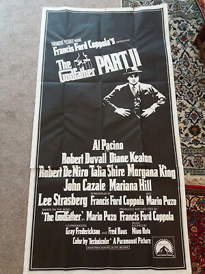 GODFATHER PART 2 orig 3-Sheet poster ,2 35 lobby Card total job lot