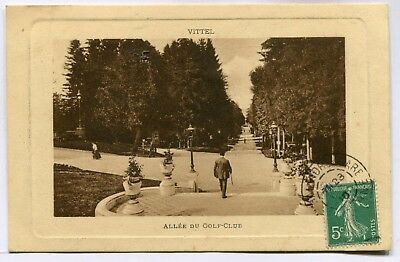 CPA - Carte Postale - France - Vittel - Allée du Golf Club - 1910 (SV6926)