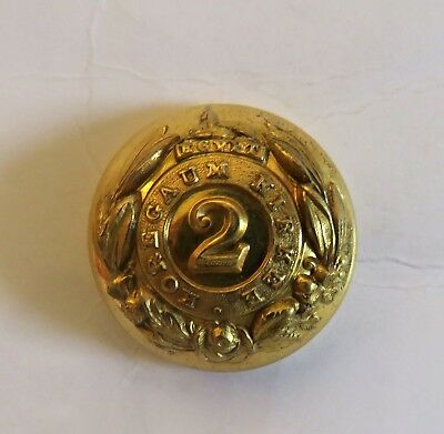 Indian Army. 2nd Bombay Infantry Coatee/Tunic Button.