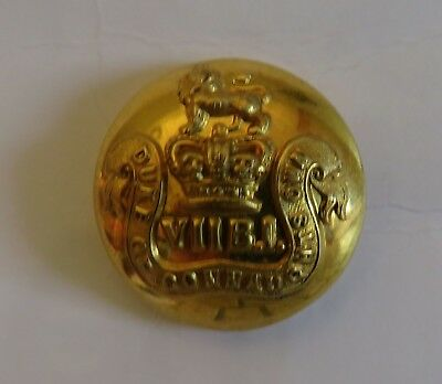 Indian Army. 7th (Duke of Connaught's Own) Bengal Infantry Tunic Button.