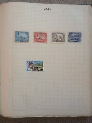 Stamp Album - Worldwide - 64 pages of old stamps