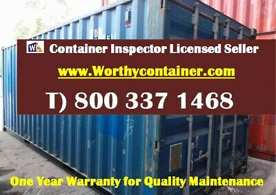 20' Cargo Worthy Shipping Container/20ft Storage Container- Edmonton, AL, Canada